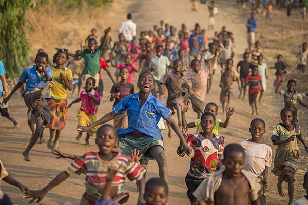 Sportlich in Malawi
